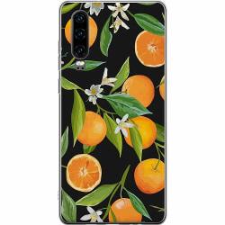 Huawei P30 Thin Case Orange Juice