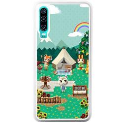 Huawei P30 Soft Case (Vit) Animal Crossing