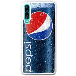 Huawei P30 Soft Case (Vit) Pepsi Can
