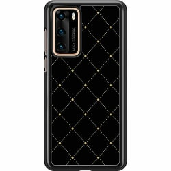 Huawei P40 Hard Case (Svart) Luxury