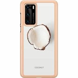 Huawei P40 Hard Case (Transparent) Coconut