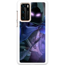Huawei P40 Hard Case (Vit) Fortnite The Raven