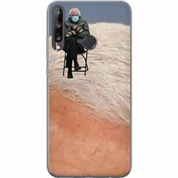 Huawei P40 Lite E Mjukt skal - Bernie Sanders Meme