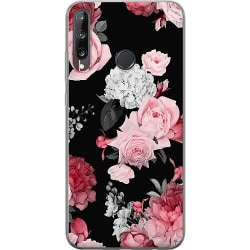 Huawei P40 Lite E Mjukt skal - Floral Bloom