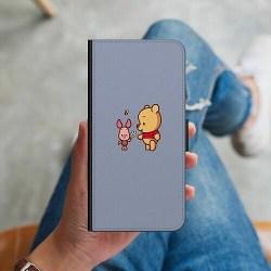 Samsung Galaxy J5 (2017) Plånboksskal Happy Bear With Tiny Pig