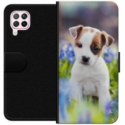 Huawei P40 Lite Wallet Case Hund
