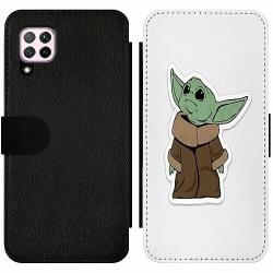 Huawei P40 Lite Wallet Slim Case Baby Yoda