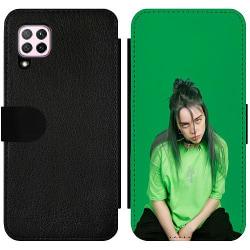 Huawei P40 Lite Wallet Slim Case billie eilish