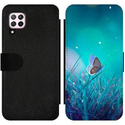 Huawei P40 Lite Wallet Slim Case Magical Butterfly