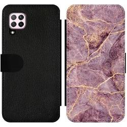 Huawei P40 Lite Wallet Slim Case Purple Rain