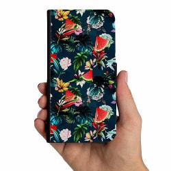Samsung Galaxy A20s Mobilskalsväska Blommor