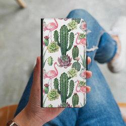 Huawei Y6 (2018) Plånboksskal Kaktus