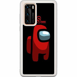 Huawei P40 Soft Case (Frostad) Among Us