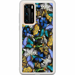 Huawei P40 Soft Case (Frostad) Butterfreeee On A Cup