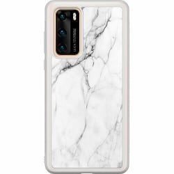 Huawei P40 Soft Case (Frostad) Marmor