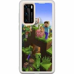 Huawei P40 Soft Case (Frostad) MineCraft
