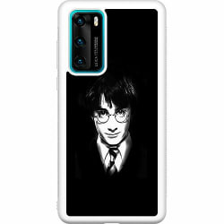 Huawei P40 Soft Case (Vit) Harry Potter