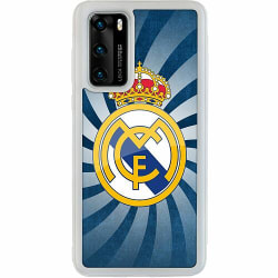 Huawei P40 Soft Case (Frostad) Real Madrid