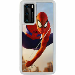 Huawei P40 Soft Case (Frostad) Spiderman