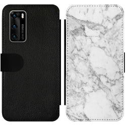 Huawei P40 Wallet Slim Case Marmor