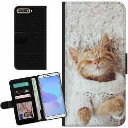 Huawei Y6 (2018) Billigt Fodral Kitty Sweater