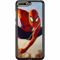 Huawei Y6 (2018) Hard Case (Black) Spiderman