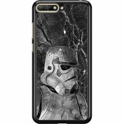 Huawei Y6 (2018) Hard Case (Black) Star Wars Stormtrooper