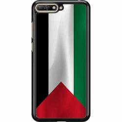 Huawei Y6 (2018) Hard Case (Svart) Palestina Flagga