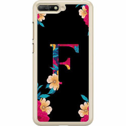 Huawei Y6 (2018) Hard Case (Transparent) Bokstaven - F