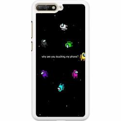 Huawei Y6 (2018) Hard Case (Vit) Among Us