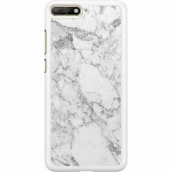 Huawei Y6 (2018) Hard Case (Vit) Marmor Vit