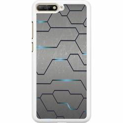 Huawei Y6 (2018) Hard Case (Vit) Mönster