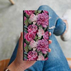 Apple iPhone 6 / 6S Plånboksskal Blommor