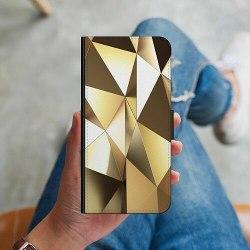 Samsung Galaxy S20 Ultra Plånboksskal Golden Pattern