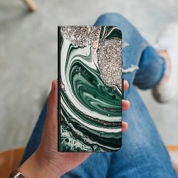 Huawei P40 Lite Plånboksskal Grön