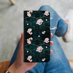Apple iPhone X / XS Plånboksskal Japanese Garden