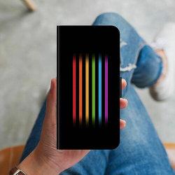 Huawei P20 Pro Plånboksskal Strip Pride