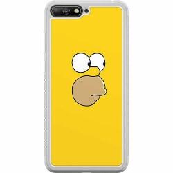Huawei Y6 (2018) Soft Case (Frostad) Homer Simpson