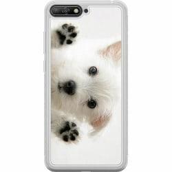 Huawei Y6 (2018) Soft Case (Frostad) Hund