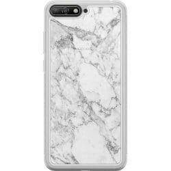 Huawei Y6 (2018) Soft Case (Frostad) Marmor