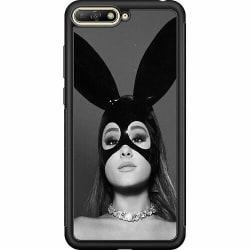 Huawei Y6 (2018) Soft Case (Svart) Ariana Grande