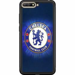 Huawei Y6 (2018) Soft Case (Svart) Chelsea Football