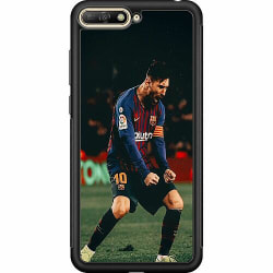 Huawei Y6 (2018) Soft Case (Svart) Messi