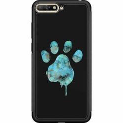 Huawei Y6 (2018) Soft Case (Svart) Paw