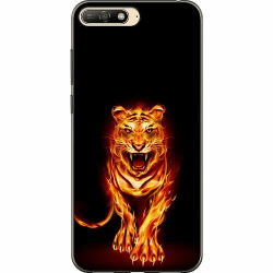 Huawei Y6 (2018) Thin Case Fire Tiger