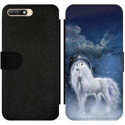 Huawei Y6 (2018) Wallet Slim Case Unicorn