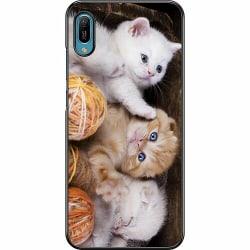 Huawei Y6 (2019) Hard Case (Svart) Katter