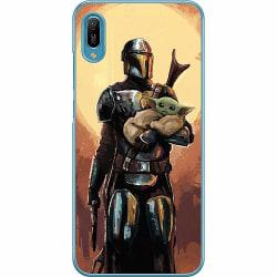 Huawei Y6 (2019) Hard Case (Transparent) Baby Yoda