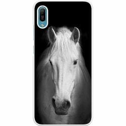Huawei Y6 (2019) Hard Case (Vit) Häst