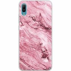 Huawei Y6 (2019) Soft Case (Frostad) Glitter Marble
